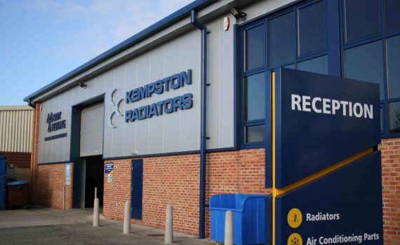 Kempston Radiators, Cooling services premises in Kempston Bedford